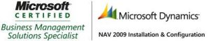 Microsoft Certified  Business Management Solutions Specialist - NAV 2009 Installation &  Configuration